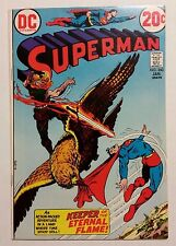 "Superman Vol.1 #260 NM- (DC,1973) Valdamar ""The Keeper of the Eternal Flame!"""
