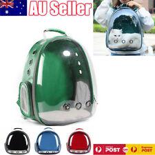 Pet Outdoor Carrier Backpack Cat Dog Puppy Travel Space Capsule Shoulder Bag AU
