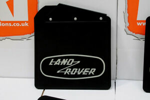 New Genuine Land Rover Defender 110 HERITAGE limited edition mud flaps front rea
