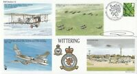 RAFS15e RAF Wittering 88th Anniversary RAF Wittering Flown in Harrier  Signed