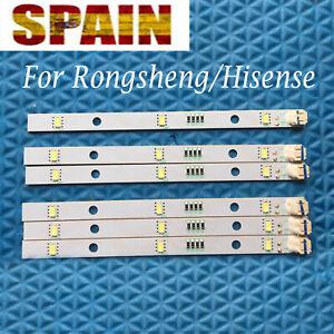 Para Rongsheng Hisense DC 12V LED Luz Light Bar Refrigerator E349766 MDDZ-162A