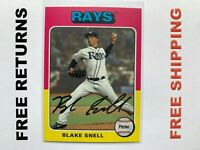 2019 Topps Archives Base Card #156 Blake Snell Tampa Bay Rays MLB