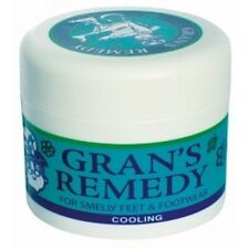 Gran's Remedy Foot Powder (Cooling) 50g FREE SHIPPING WORLDWIDE