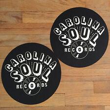 Carolina Soul DJ Slipmat Pair (2 Slipmats) NM