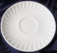 White Saucer Royal Doulton Cascade Orphan for Tea Cup English Bone China H5073