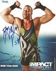 Rob Van Dam Autographed TNA 8x10 Promo Photo P-132 RVD WWE ECW