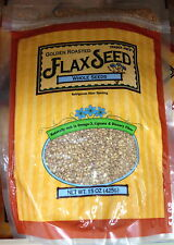 Trader Joe's Golden Roasted Whole Flax Seeds Rich in Omega 3 Dietary Fiber
