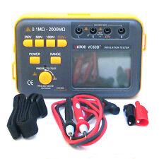 VC60B+ Digital Insulation Tester Megger MegOhm Meter