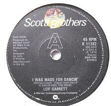 """Leif Garrett-I fue hecha para bailando' - ex con 7"""" sola Scotti hermanos K 11202"""