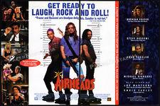 AIRHEADS__Original 1994 Trade AD / movie promo__STEVE BUSCEMI__BRENDAN FRASER