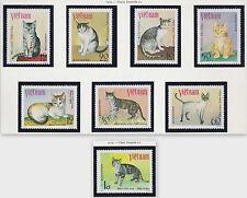 VIETNAM N°199/206** Chats 1979, Vietnam #1025-1032 cats MNH