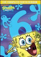 SpongeBob SquarePants: The Complete 6th Season [4 Discs (2012, REGION 1 DVD New)