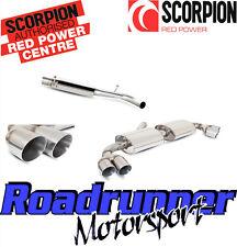 Scorpion SAU026 Audi TT MK2 3.2 V6 Gato Sistema de escape atrás para quad