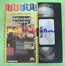 film VHS cartonata HOLLYWOOD O MORTE Jerry Lewis re della risata (F80) no dvd