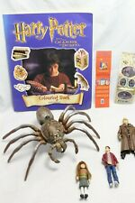 Harry Potter Collectable Bundle Figure Sticker Book Aragog Hermione Mad Eye RARE