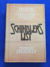 SCHINDLER'S LIST - FIRST AMERICAN EDITION BY THOMAS KENNEALLY