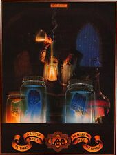 "VINTAGE AD POSTER~Lee Jeans 1982 Wizard 15x20"" It Takes A Little Magic To Fit~"