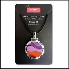 Bohin Couture Thread Cutter Pendant - Violet Wave