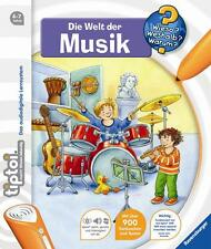 "Ravensburger TIPTOI 00583 - Book "" the World The Music "", NEW"