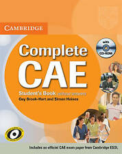 Complete CAE Student's Book without answers with CD-ROM, Acceptable, Brook-Hart,