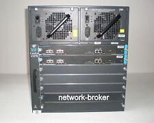 Cisco Catalyst ws-c4507r 2 x ws-x4515 sup moteur IV 2 x pwr-c45-1000ac