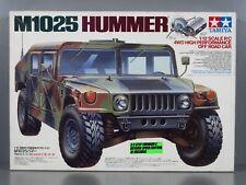 Vintage NEW 1995 Tamiya 1/12 R/C M1025 Hummer Military #58154 TA01 Chassis Rare