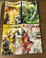 OVERRUN 1-4 JETPACK COMICS EXCLUSIVE SIGNED SET Andi Ewington Pual Green