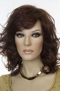 Jessica Long Medium Jon Renau Wavy Blonde Brunette Red Wigs
