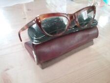 Ancienne paire de lunettes + 3 anciens etui