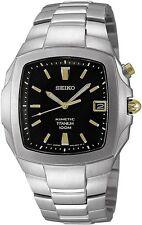 SEIKO Kinetic SKA361 SKA361P1 Mens Titanium Black Dial 100m Watch