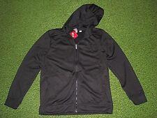 Men's (M) Black PUMA Poly Fleece Zippered Hoodie/Sweatshirt Jacket