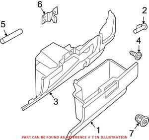 Genuine OEM Glove Box Lock Kit for Nissan F8632JA00A