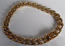 Magnifique Bracelet Gourmette Or 18 Carats, 18,3 Cm, Poids 32,5 Grammes.