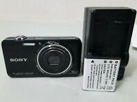 Sony Cyber-shot DSC-WX7 16.2MP Digital Camera - Black *GOOD/TESTED*