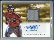 Bryce Brentz 2013 Bowman Inception Autograph Game Used Jersey