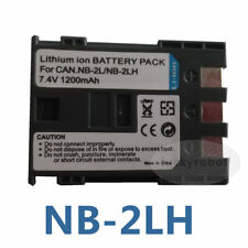 2 Pack NB-2LH NB-2L Battery for Canon Rebel XT XTi EOS 350D 400D G7 G9 S30 S50
