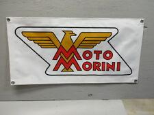 Moto Morini Motorcycle Banner Sign EC0266 PARTS & ACCESSORIES