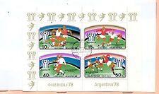 Corea Deportes Mundial de Futbol Argentina año 1978 (CY-75)