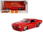 Jada 31645 1971 Pontiac GTO Judge Glossy Red Bigtime Muscle 1 by 24 Diecast Mode