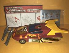 TRANSFORMERS G1 Hot Rod figure Autobot Cavalier race car toy reissue version