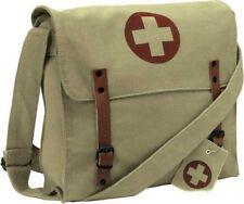 Red Cross Vintage Medic Bag for Nurses, Doctors, Paramedics and EMT's