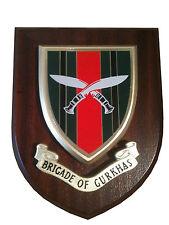 Brigade of Gurkhas Military Shield Wall Plaque