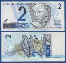 BRASILIEN / BRAZIL 2 Reais (2001-) UNC P.249 e