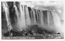 Niagara New York~Horseshoe Falls from Maid of the Mist~1950s Real Photo~RPPC