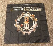 bachman turner overdrive Flag 4'x4' Huge