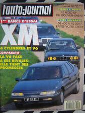 revue 1989 CITROEN XM V6 / BMW 530i / MERCEDES 300 E / RENAULT 25 V6 / THEMA 16V