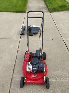 Toro 2 Cycle Mower  *** COMMERCIAL ***