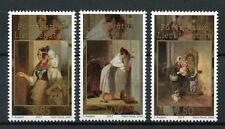 Liechtenstein 2017 Gomma integra, non linguellato principesca TESORI PETER FENDI 3v Set Art Stamps