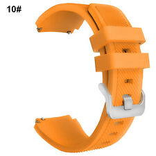 Silicone Bracelet Strap Watch Band For Samsung Gear S3 Classic/Frontier 22mm HOT