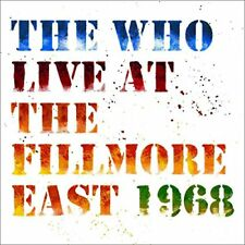 The Who - Live at The Fillmore East: Saturday April 6, 1968 [CD]